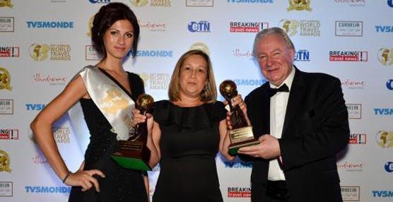 Lopesan Hotel Group recibe tres premios en los World Travel Awards 2013, otorgados por los agentes de viajes