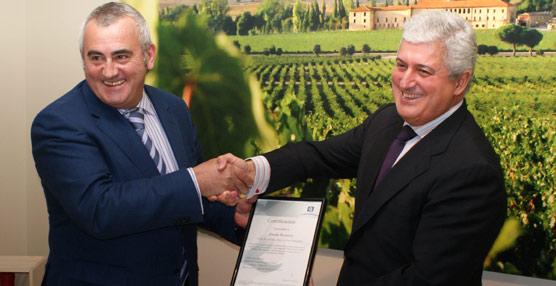 Abadía Retuerta se convierte en la primera bodega de Valladolid en obtener la 'Q' de Calidad Turística del ICTE