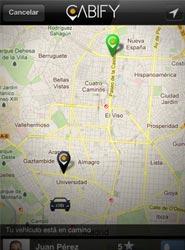 La aplicación Cabify permite la reserva de vehículos de alta gama con conductor en España, México, Chile y Perú