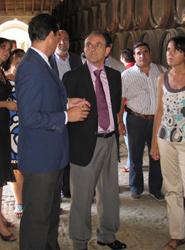 Rodríguez aboga por potenciar el enoturismo para diversificar la oferta y mejorar la competitividad de Andalucía