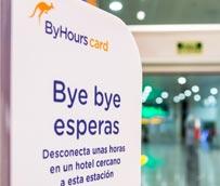 Algunos establecimientos de Áreas distribuirán la nueva tarjeta de ByHours.com que permite el alojamiento por horas