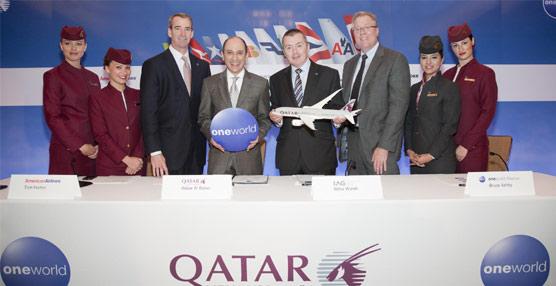 Qatar Airways se unirá a la alianza Oneworld el 30 de octubre, lo que convertirá a la alianza en líder en Oriente Medio