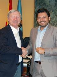 La Asociación Gallega de Ferias y Eventos presenta su proyecto al secretario de la Emigración de la Xunta de Galicia