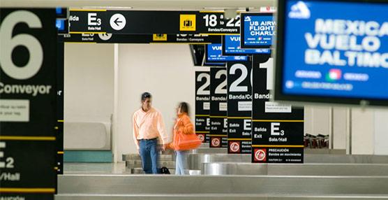 Exteriores alerta de 'graves perturbaciones' en el aeropuerto internacional de México por el temporal
