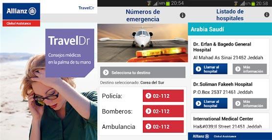 Allianz Global Assistance lanza My Travel Doctor, nueva aplicación gratuita de ayuda médica para los viajeros de negocios