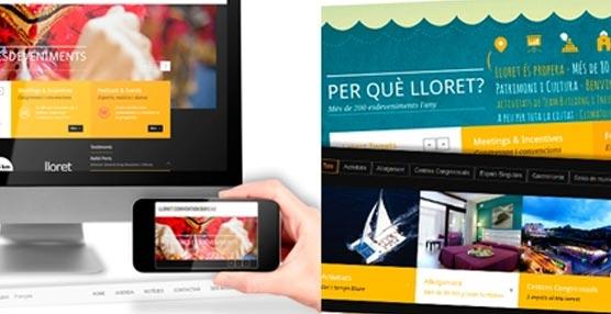El Lloret Convention Bureau renueva por completo su 'web' mejorando su diseño, contenidos y tecnología