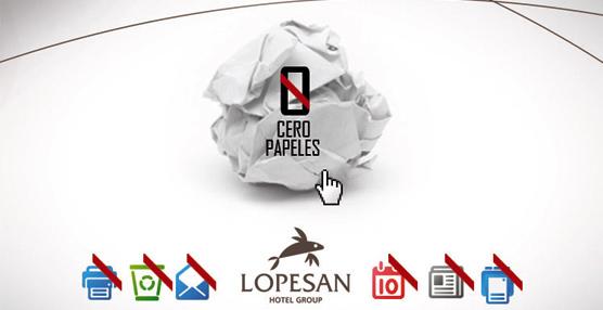 El Grupo Lopesan promueve la gestión medioambiental de '0 papeles' en todos sus centros de trabajo