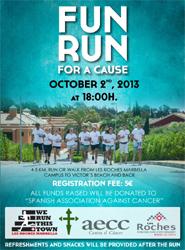 La Escuela internacional Les Roches Marbella alberga la primera edición de la carrera solidaria 'Fun Run'