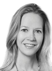 Charlotte Evans, directora del Grupo Editorial.