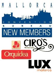 El Mallorca Convention Bureau incorpora a Perlas Orquídea, Restaurante Ciro's y Lux Mallorca como nuevos miembros