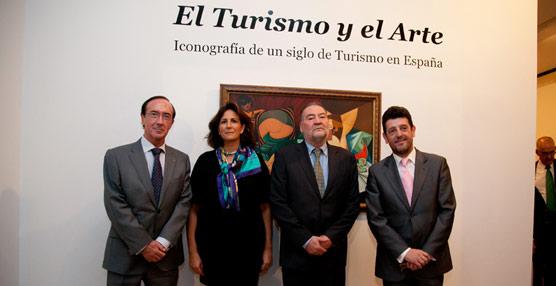 La secretaria de Estado de Turismo inaugura en el Museo Casa de la Moneda la exposición temporal'El Turismo y el Arte'