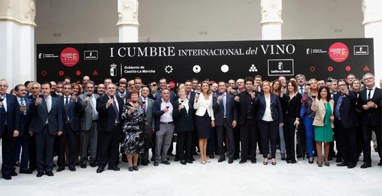 El Gobierno de Castilla-La Mancha organiza la I Cumbre Internacional del Vino con eventos en todas sus provincias