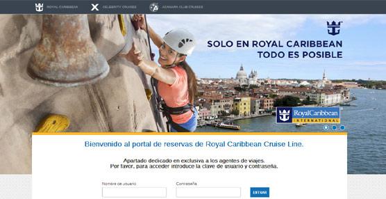 Royal Caribbean lanza una nueva 'web' exclusiva para agencias que permite la navegación independiente por marcas