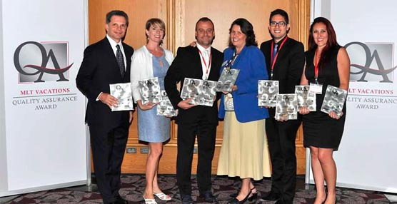 Un total de 10 hoteles de la cadena RIU son premiados por el turoperador norteamericano MLT Vacations