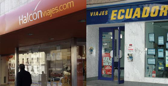 Globalia y sindicatos acuerdan reducir el ERE en Halcón Viajes y Viajes Ecuador a 365 empleados y 148 puntos de venta