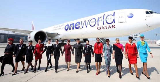 La aerolínea Qatar Airways se incorpora a la alianza oneworld tras un proceso de integración de un año