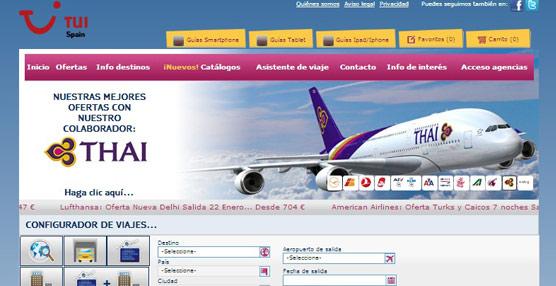 TUI Spain integra Amadeus en su página 'web', mejorando así el tiempo de respuesta en la búsqueda de vuelos