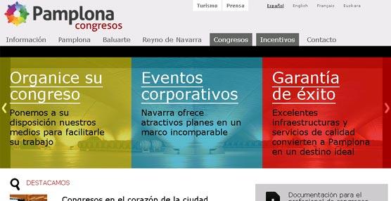 Pamplona Congresos colabora en la organización de más de 30 eventos en la ciudad en lo que va de año