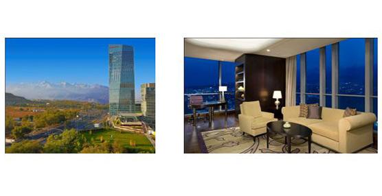 The Ritz-Carlton Hotel Company abre un nuevo hotel de lujo ubicado en uno de los edificios más altos de Asia Central