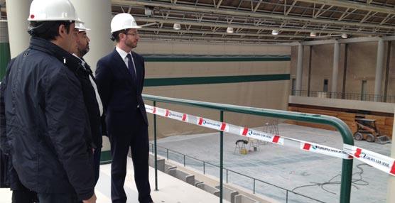 El Palacio de Congresos Europa concluye la instalación de la fachada vegetal e inicia su reforma interior