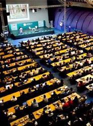 El Palacio de Congresos de Sevilla reúne a unos 3.000 participantes en la octava edición de Evento Blog España