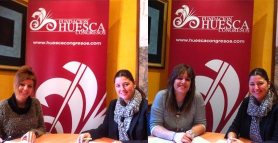 La Fundación Huesca Congresos incorpora como nuevos socios a una empresa de diseño gráfico y a otra de audiovisuales