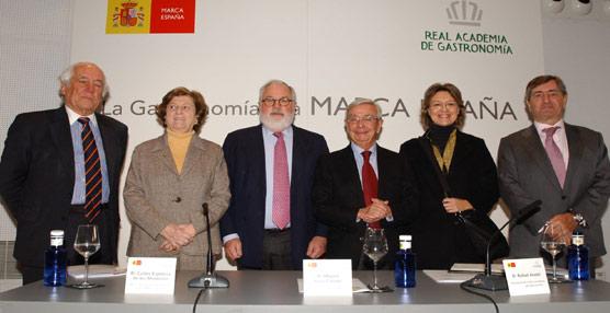 Arias Cañete destaca que'España tiene gran potencial en la conjunción de alimentación, gastronomía, Turismo y cultura'
