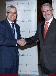 La Asociación Empresarial Hotelera de Madrid firma un acuerdo de colaboración con el Teatro Real