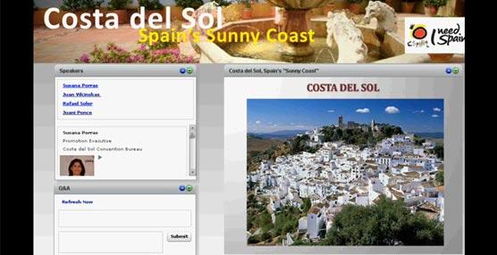 La Costa del Sol participa en una importante acción promocional 'online' dirigida al mercado MICE norteamericano