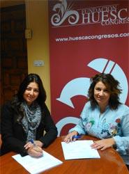 El café bar El Punto se incorpora como socio a la Fundación Huesca Congresos
