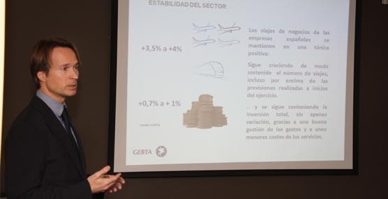 Los viajes de negocios de las empresas españolas crecen un 1,9% en el mercado doméstico hasta octubre