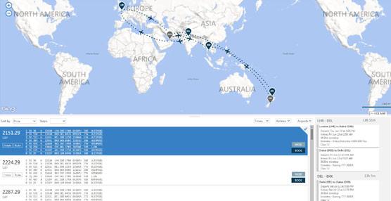 Travelport introduce nuevas herramientas y mapas interactivos en su plataforma para agentes Smartpoint