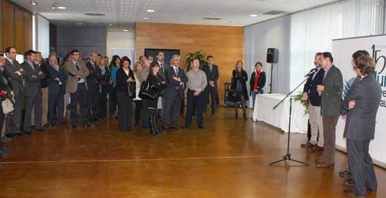 El encuentro del alcalde de Murcia con los socios colaboradores de la Oficina de Congresos de la ciudad.