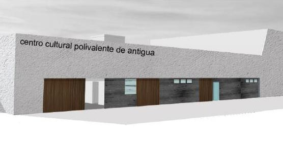 La alcaldesa de Antigua destaca el compromiso del Cabildo de Fuerteventura con el Centro Polivalente