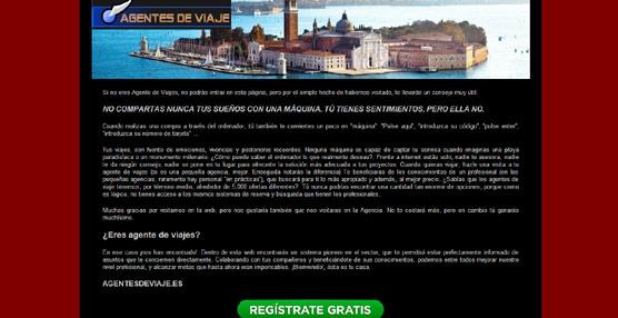 Una agencia de Vitoria lanza una 'web' exclusiva para agentes que permite identificar a los hoteles que respetan al canal