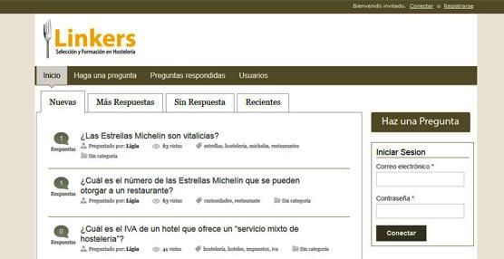 Expertos de Linkers atienden consultas sobre hostelería y empleo en su web con su nueva sección 'Preguntas'