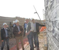 Las obras del Edificio de Formación y Congresos de Fuerteventura continúan su ritmo para estar finalizadas en el año 2015