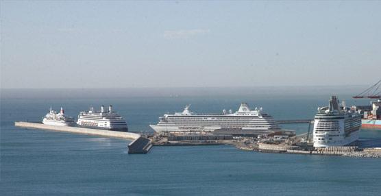 Los puertos españoles reciben un millón de pasajeros de cruceros en octubre, un 6% menos que hace un año