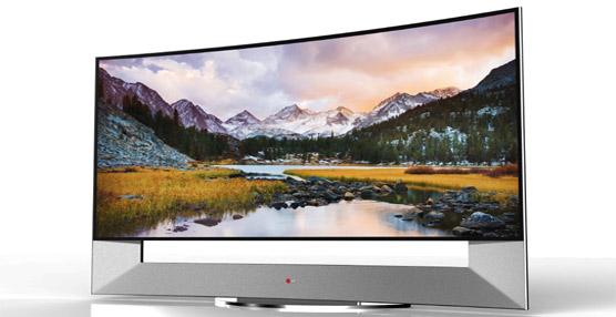 LG presentara en primer televisor ultra HD curvo de 105 pulgadas en la feria de consumo CES 2014