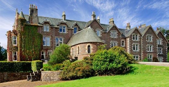 El hotel de lujo Cromlix, una mansión victoriana propiedad del tenista Andy Murray, abrirá el próximo 1 de abril
