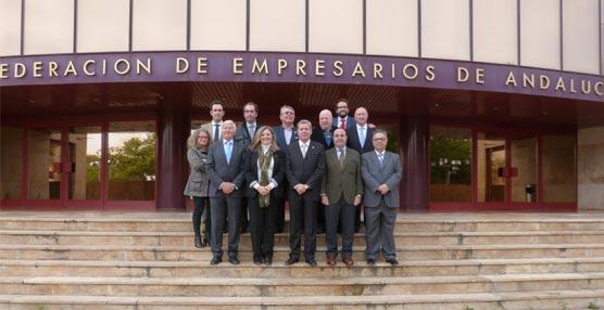 Nueva Junta Directiva de la Federación de Empresarios de Hostelería de Andalucía.