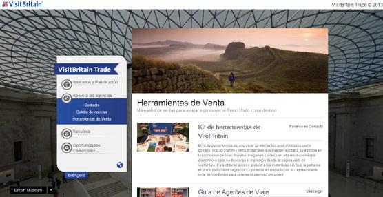 VisitBritain crea una 'web' para ayudar a los agentes de viajes a comercializar Reino Unido como destino turístico