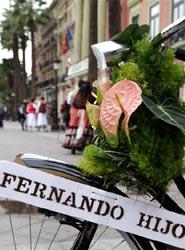 Floristería Fernando Hijo es la nueva incorporación de la Oficina de Congresos de Murcia