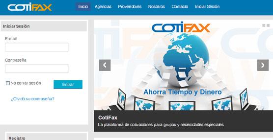 El fundador de BookingFax pone en marcha CotiFax, plataforma especializada en la gestión de grupos