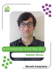 ICCA elige a Rafael Oliver, de Barceló Congresos, como 'Investigador del Año 2013'