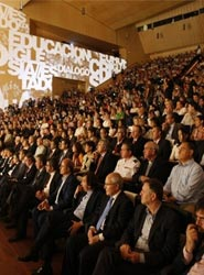 Un congreso celebrado en el Lienzo Norte de Ávila.