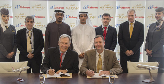 Air Europa comienza su expansión hacia Asia mediante un acuerdo de código compartido con Etihad Airways