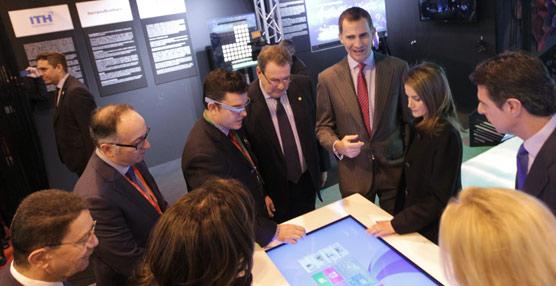 Los Príncipes de Asturias muestran especial interés por Fitur Know-How & Export en la inauguración de la feria