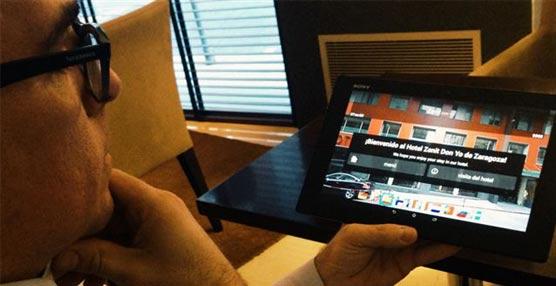La cadena hotelera Zenit apuesta por la tecnología y convierte las tablets en un 'amenitie' más de sus establecimientos