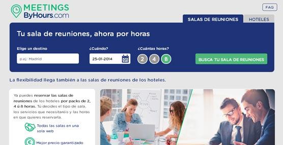 ByHours.com presenta un nuevo producto que posibilita el alquilar salas de reuniones por horas totalmente equipadas